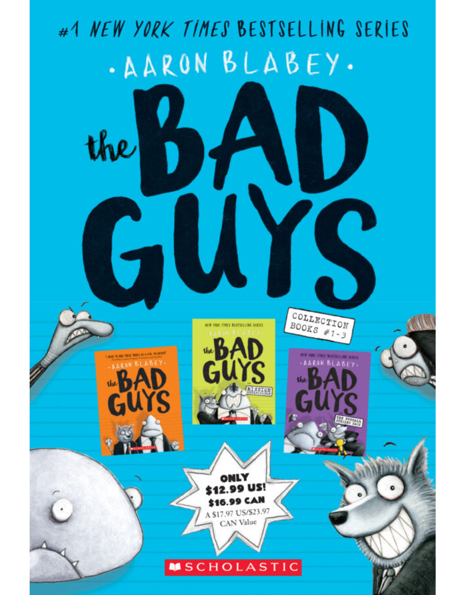 Scholastic THE BAD GUYS COLLECTION