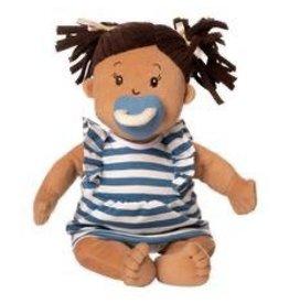 Manhattan Toy BABY STELLA BEIGE DOLL WITH BROWN HAIR