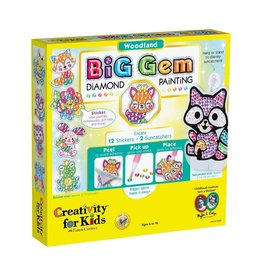 Creativity for Kids BIG GEM DIAMOND PAINTING WOODLAND