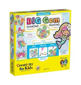 Creativity for Kids BIG GEM DIAMOND PAINTING SEA FRIENDS