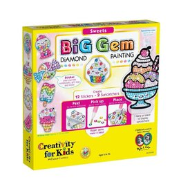 Creativity for Kids BIG GEM DIAMOND PAINTING SWEETS