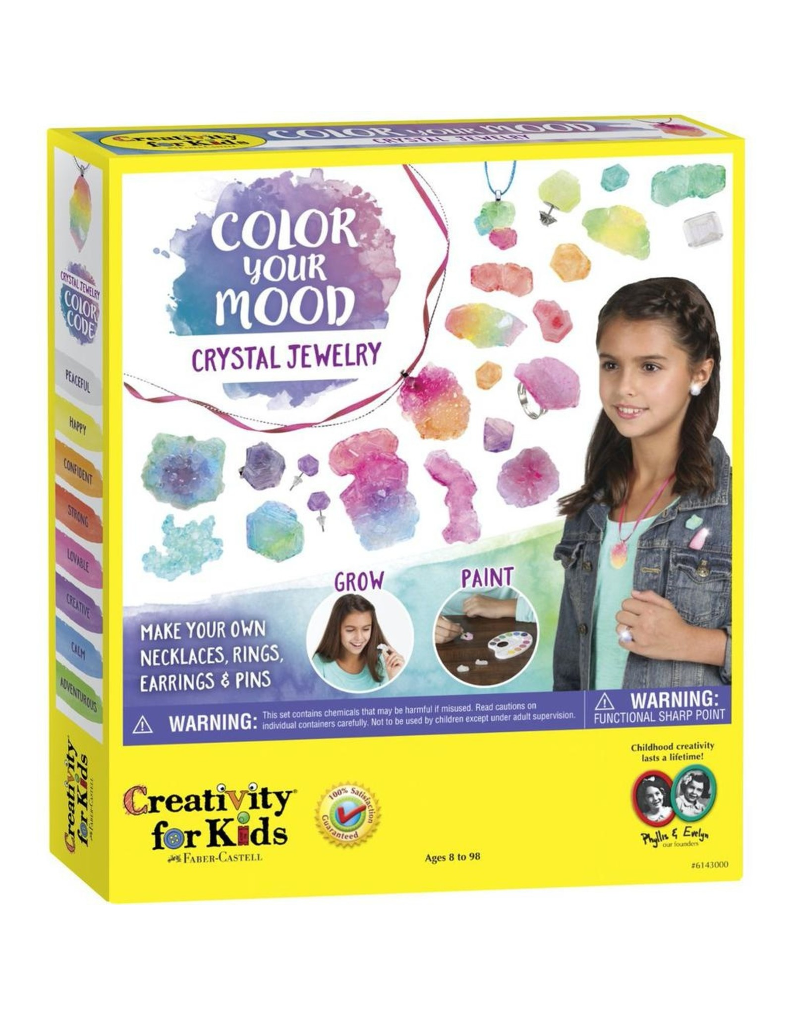 Creativity for Kids COLOUR YOUR MOOD CRYSTAL JEWELRY