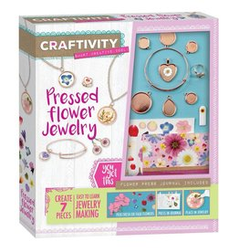 Creativity for Kids PRESSED FLOWER JEWELRY