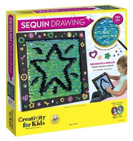 Creativity for Kids SEQUIN DRAWING