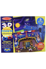 Melissa & Doug EASY TO SEE 3D REUSEABLE STICKER PAD - ADVENTURE