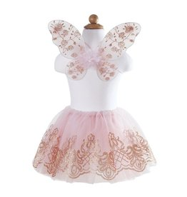 Great Pretenders ROSE GOLD TUTU & WINGS SET