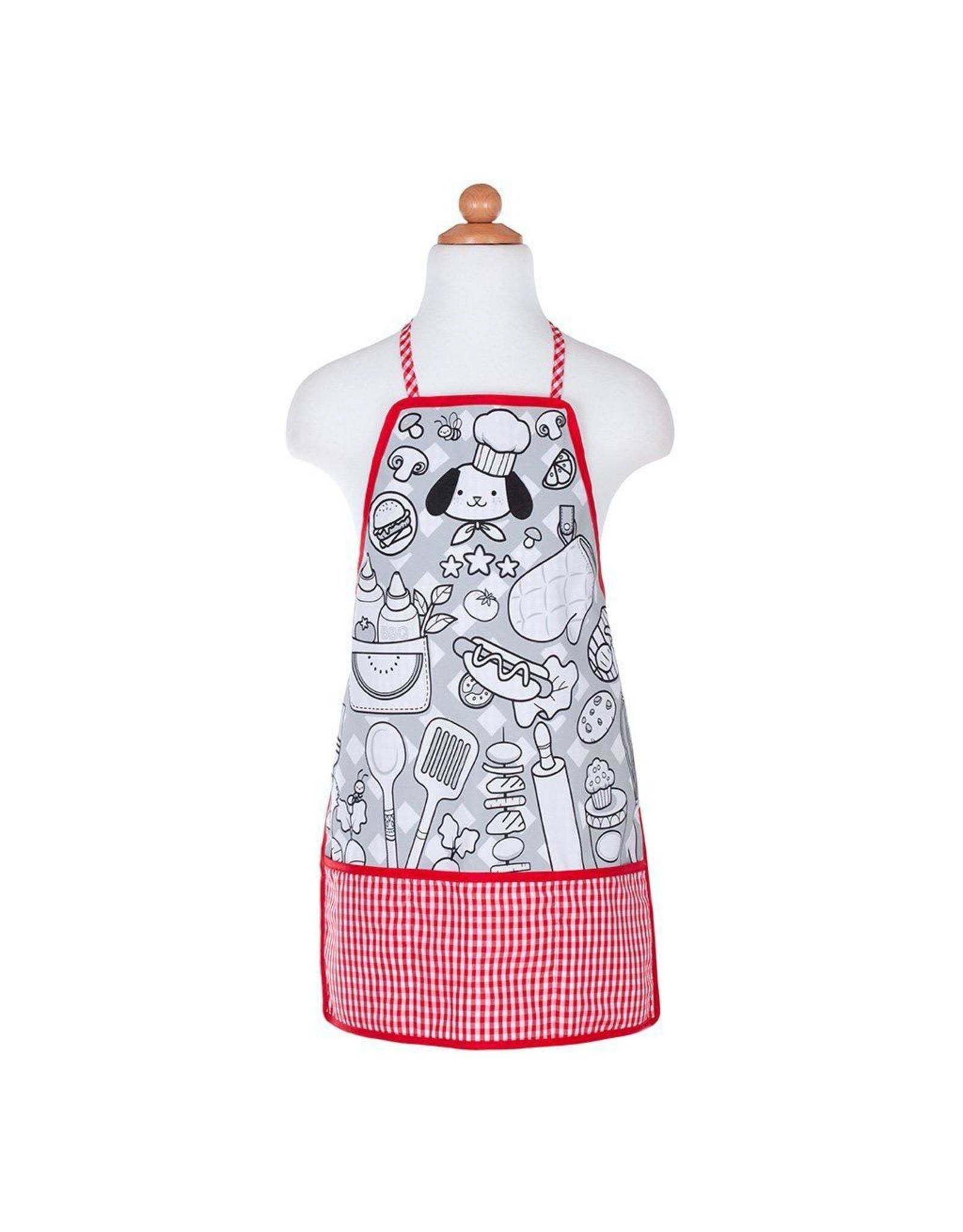 Great Pretenders COLOUR-AN-APRON CHEF, SIZE 4-6