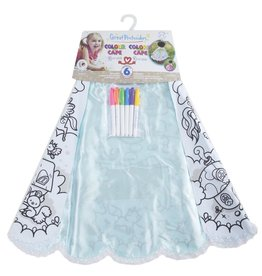 Great Pretenders COLOUR-A-CAPE  MAGICAL PRINCESS  SIZE 4-7