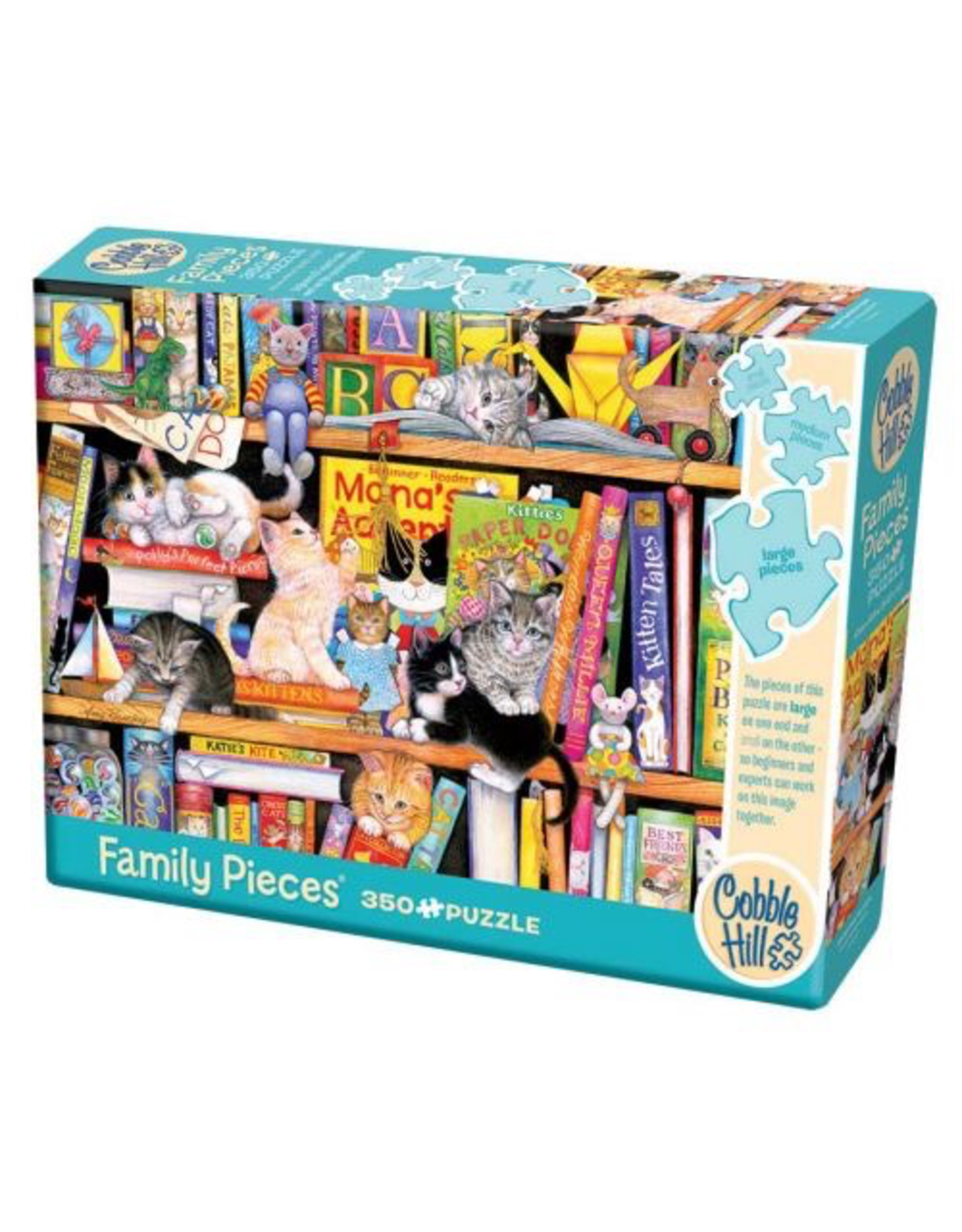 Cobble Hill Puzzles STORYTIME KITTENS FAMILY 350pc