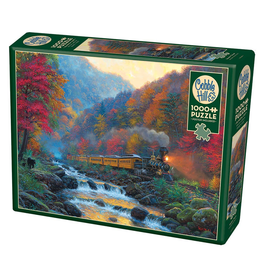 Cobble Hill Puzzles SMOKY TRAIN 1000PC