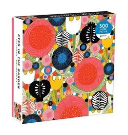 Galison Eyes In The Garden 500 Piece Puzzle