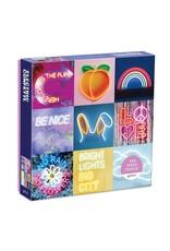 Galison Electric Confetti Neon 300pc Puzzle