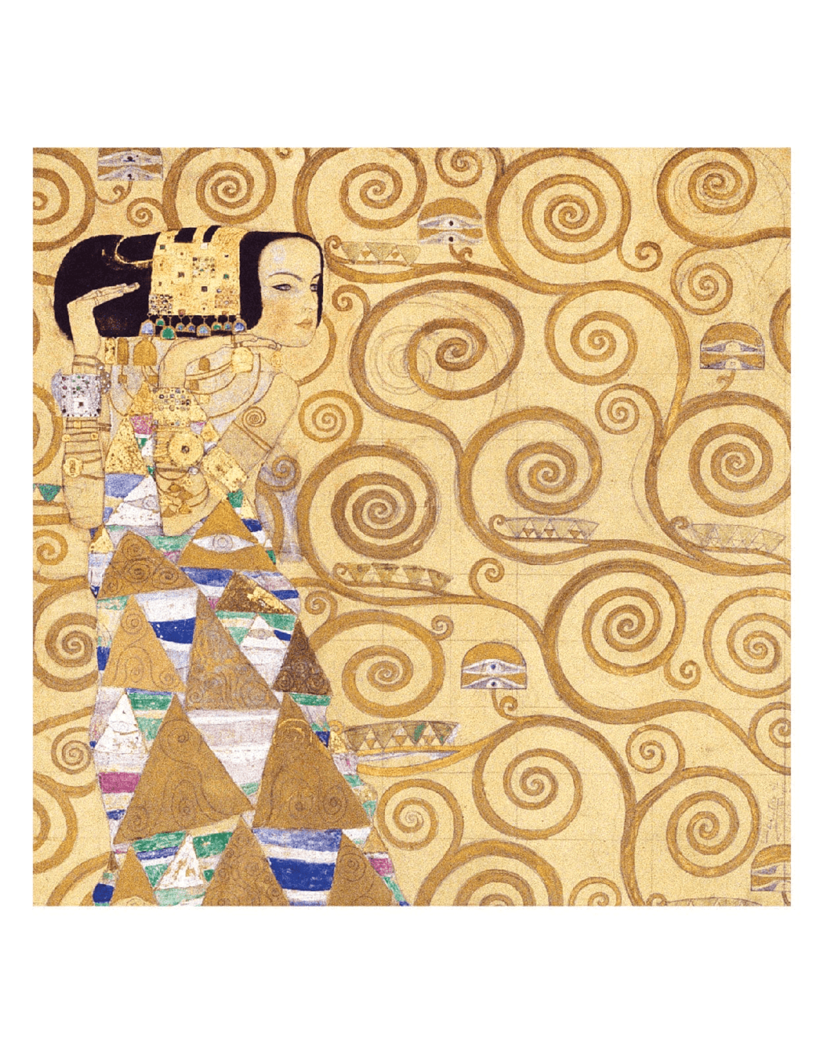 Galison Klimt Expectation 500 Piece Puzzle
