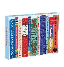 Galison Ideal Bookshelf: Universal 1000 Piece Puzzle