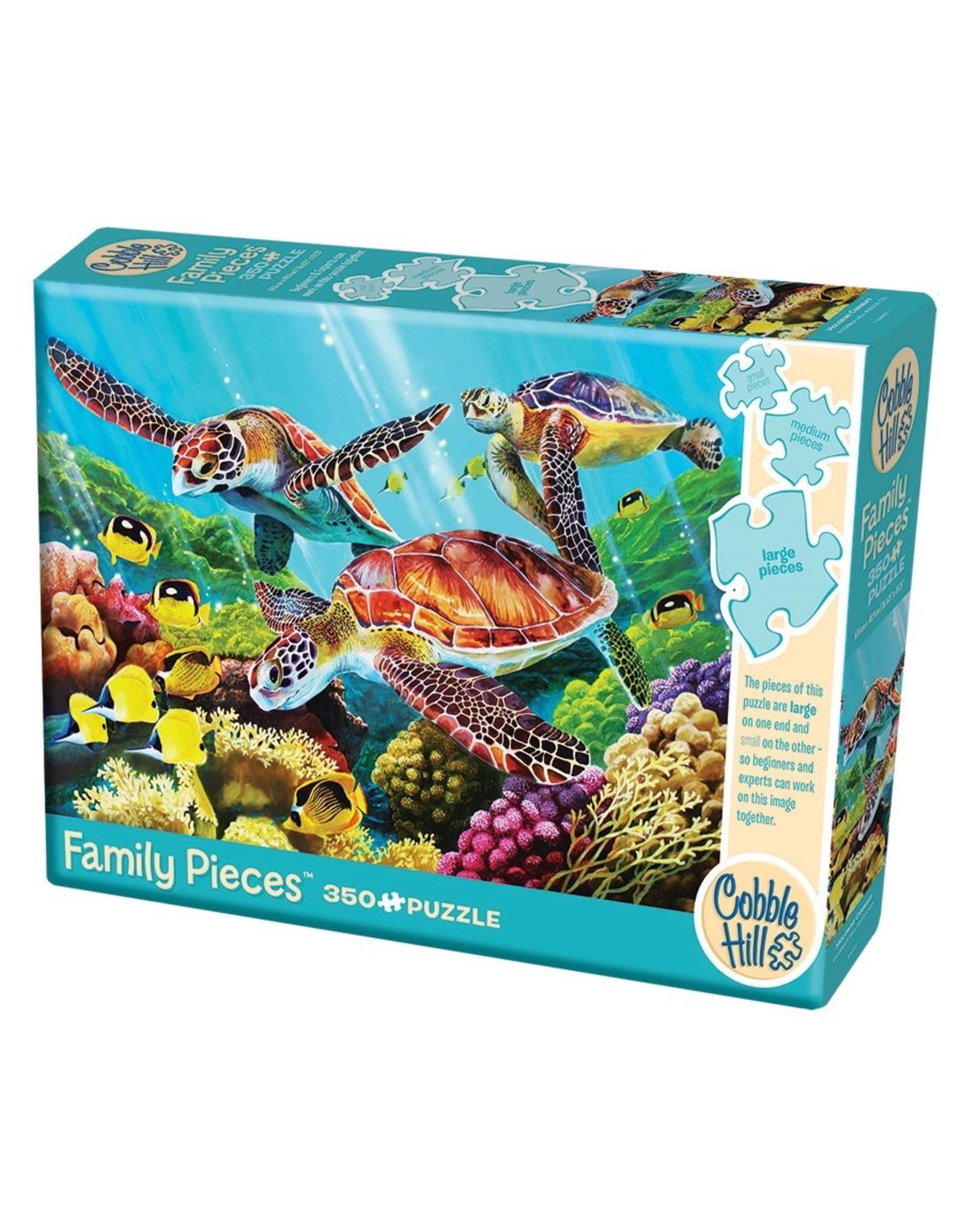 Cobble Hill Puzzles MOLOKINI CURRENT FAMILY PUZZLE 350 PIECES