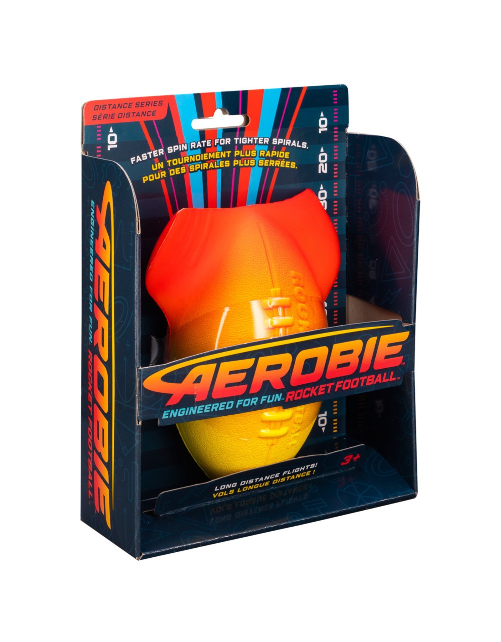 Aerobie AEROBIE ROCKET FOOTBALL - RED