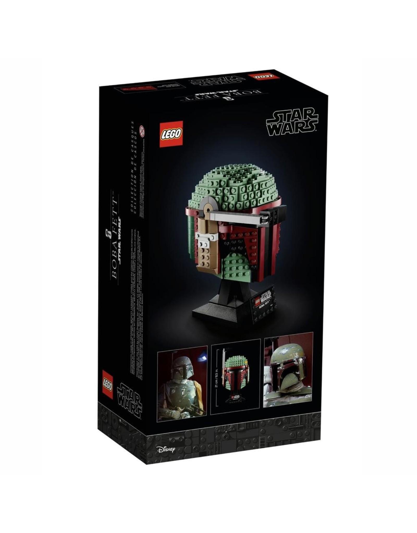 LEGO BOBA FETT HELMET STAR WARS - 75277