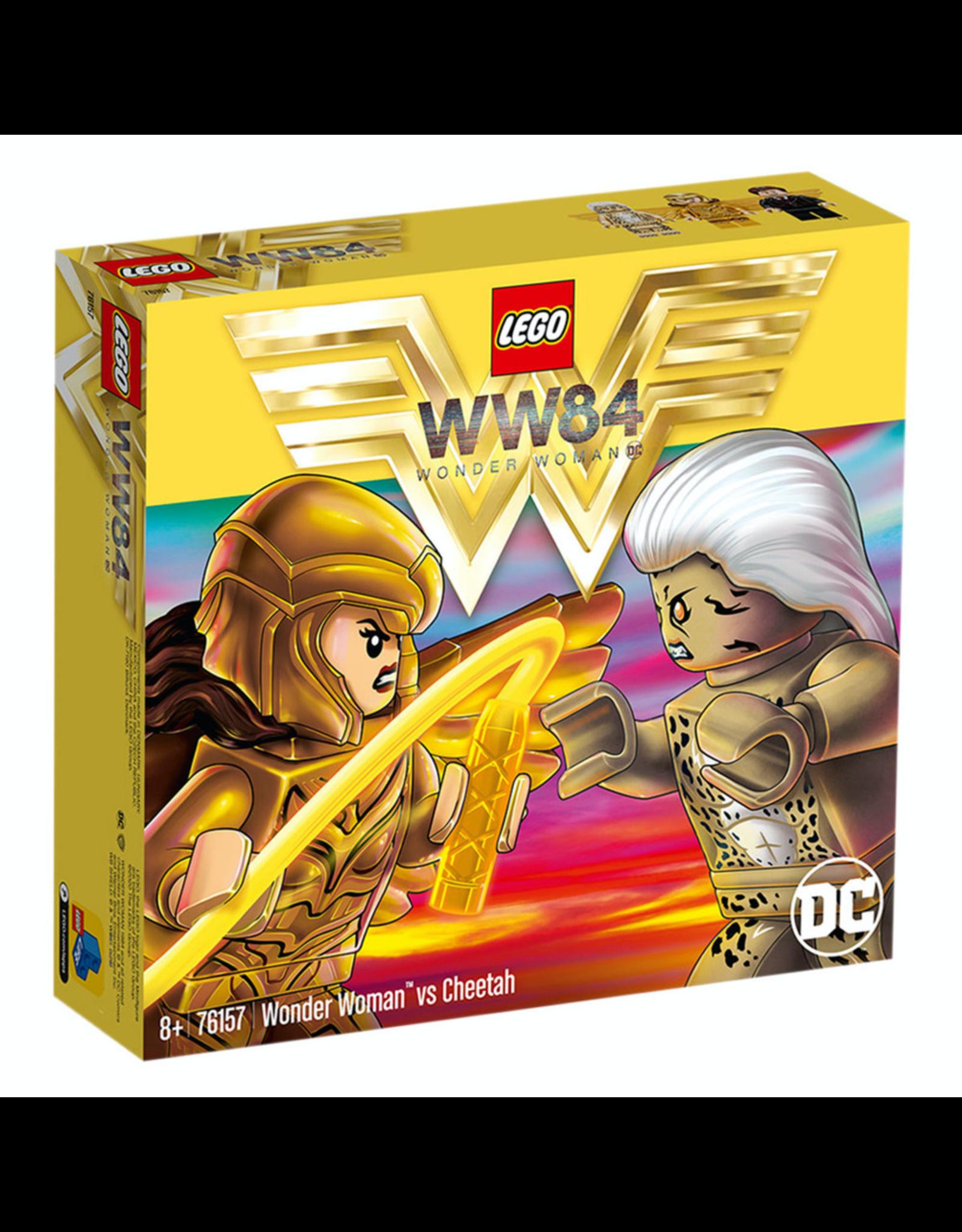 LEGO SUPERHEROES - 76157 WONDER WOMAN vs CHEETAH