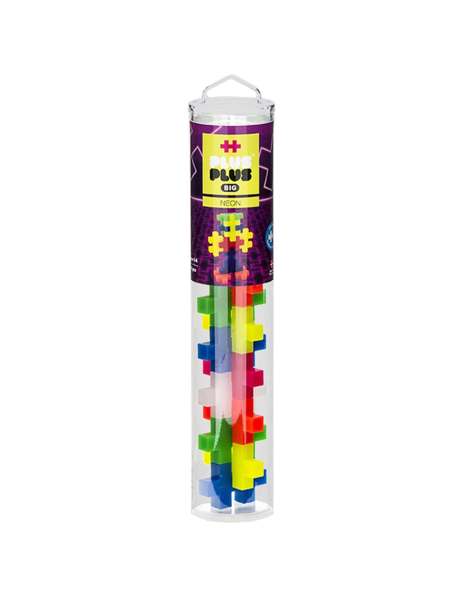 Plus-Plus PLUS PLUS TUBE BIG - NEON