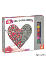 MindWare PAINT YOUR OWN STEPPING STONE – HEART