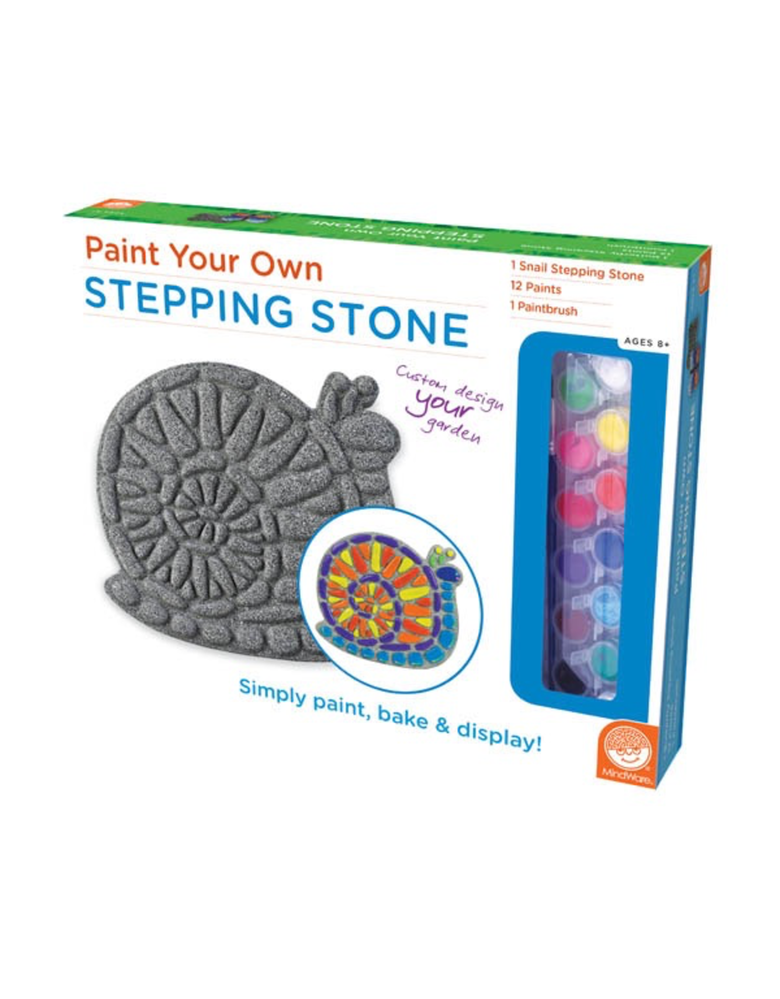 MindWare PAINT YOUR OWN STEPPING STONE – SNAIL