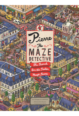 Raincoast Books PIERRE THE MAZE DETECTIVE THE SEARCH FOR THE STOLEN MAZE STONE