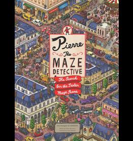 Raincoast Books PIERRE THE MAZE DETECTIVE THE SEARCH FOR THE STOLEN MAZE STONE