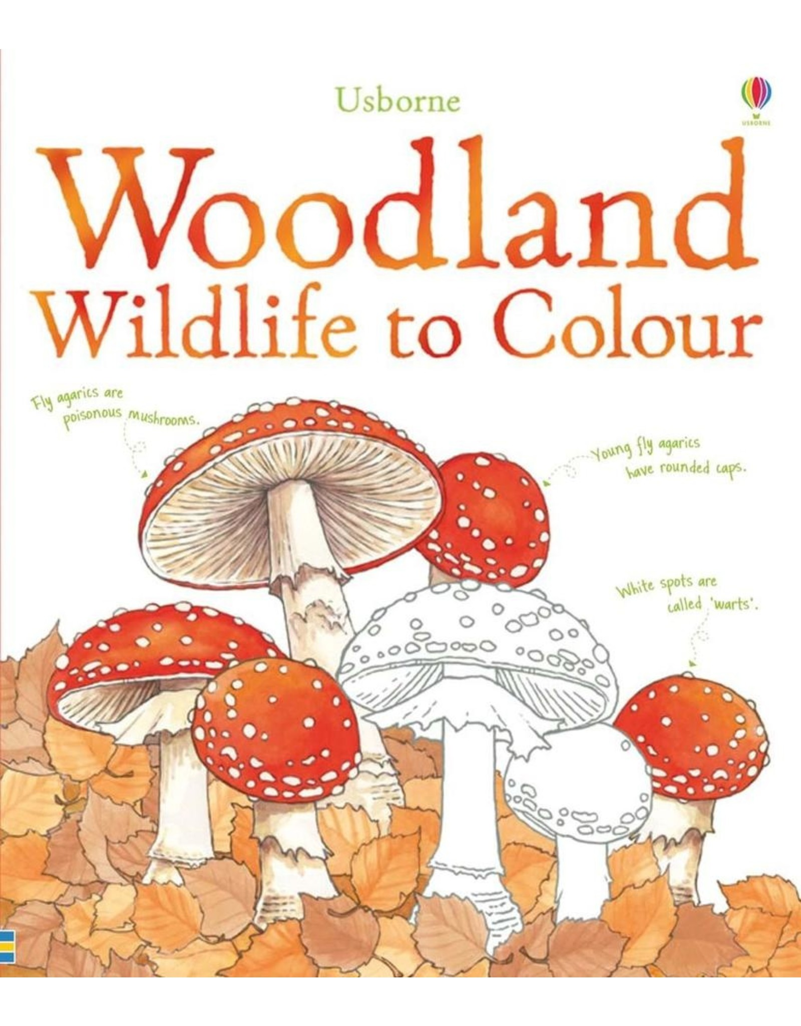 Usborne Woodland To Colour