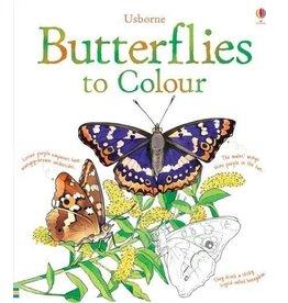 Usborne Butterflies To Colour