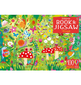 Usborne PICTURE PUZZLE BOOK & JIGSAW BUGS 100 PIECES