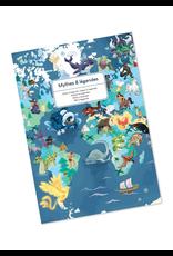 Janod EDUCATIONAL PUZZLE - MYTHS & LEGENDS - 350 PIECES
