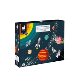 Janod EDUCATIONAL PUZZLE - THE SOLAR SYSTEM - 100 PIECES