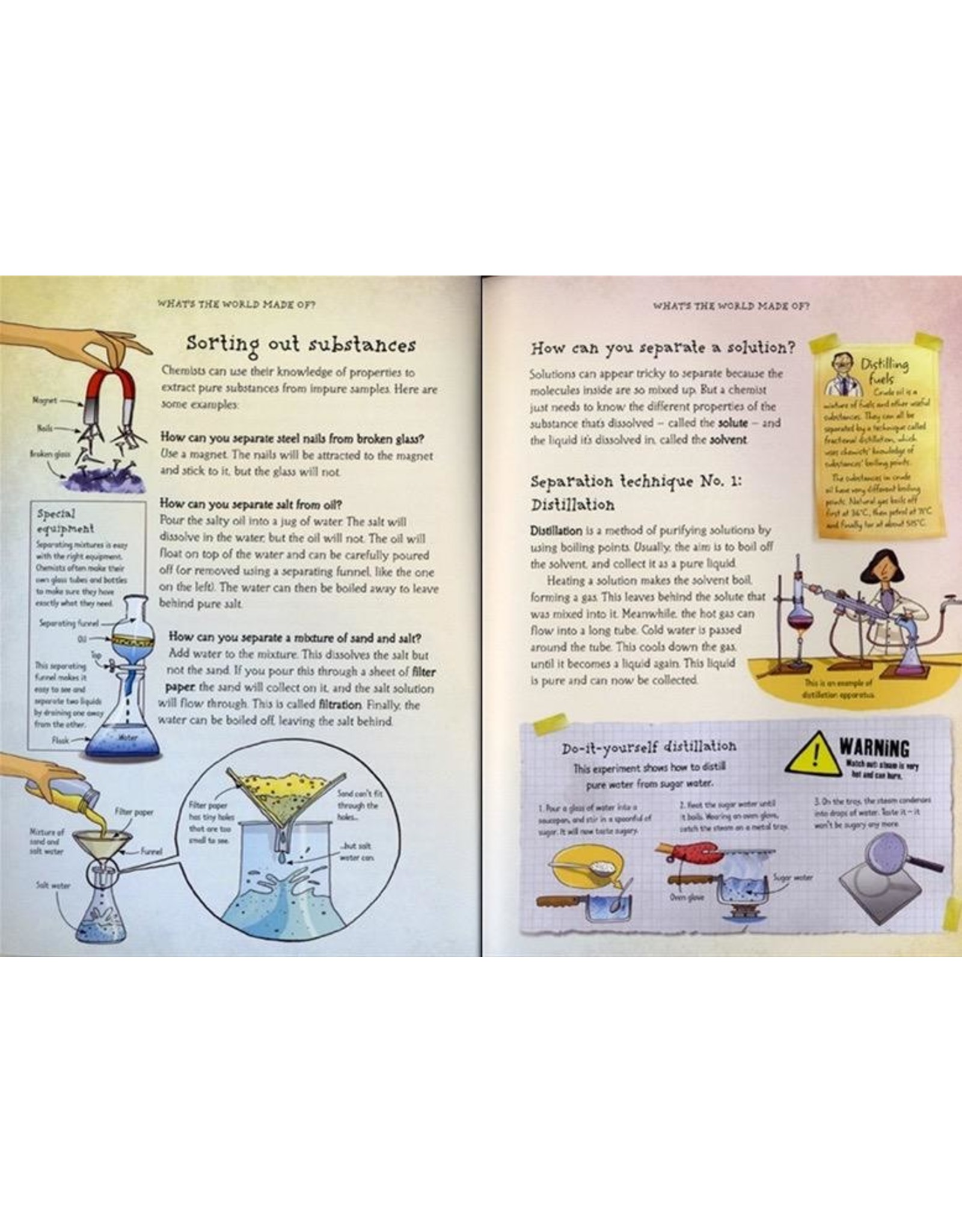 Usborne What's Chemistry All About?