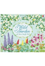 Usborne The Wild Garden Rub-Down Transfer Book