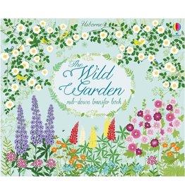 Usborne The Wild Garden Rub-Down Transfer Book