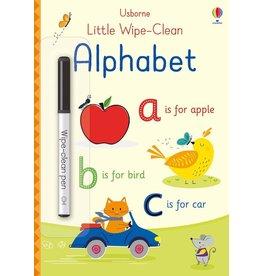 Usborne Little Wipe-Clean Alphabet