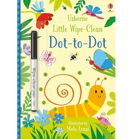 Usborne Little Wipe-Clean Dot-To-Dot