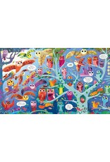 Usborne PICTURE BOOK & JIGSAW NIGHT TIME 100 PIECES