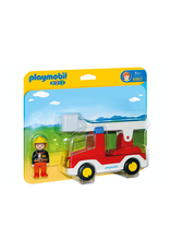 Playmobil PLAYMOBIL 1.2.3. 6967 LADDER UNIT FIRE TRUCK