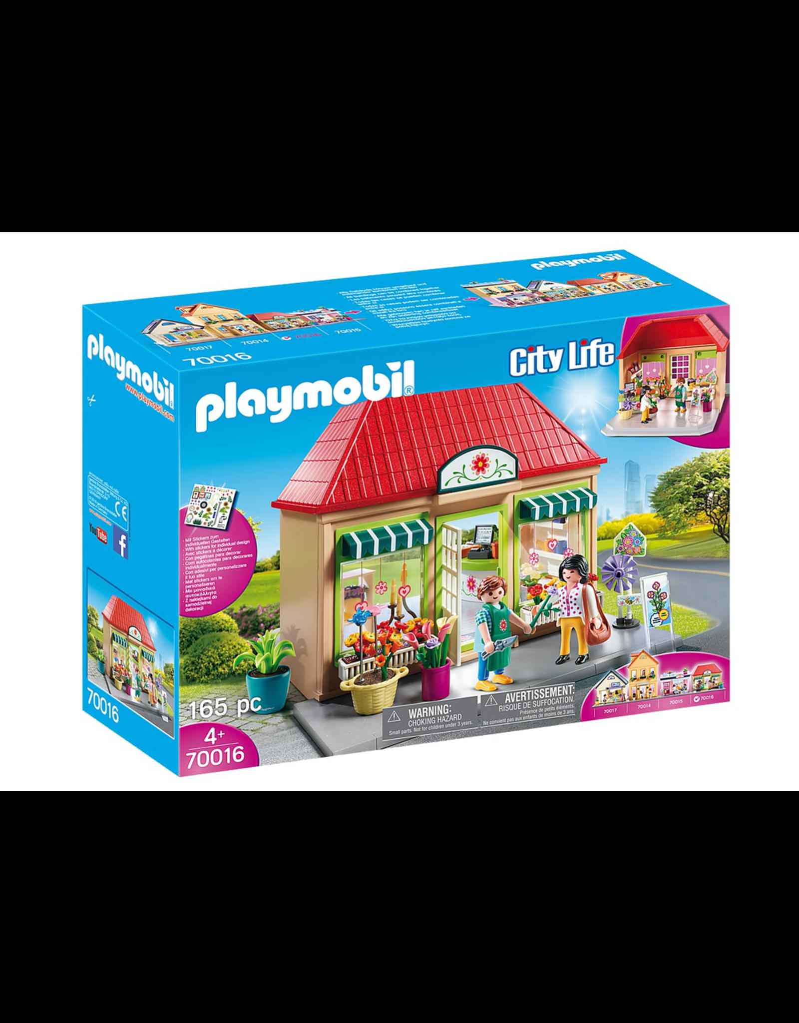 Playmobil PLAYMOBIL 70016   CITY LIFE   MY FLOWER SHOP