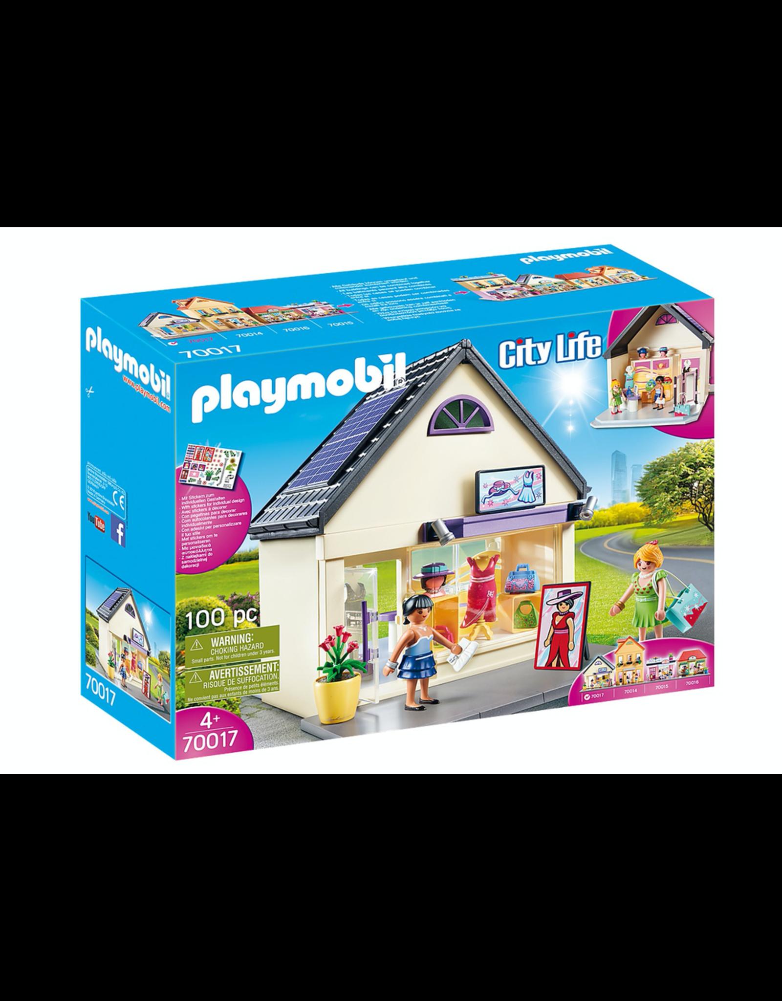 Playmobil PLAYMOBIL 70017   CITY LIFE   MY FASHION BOUTIQUE
