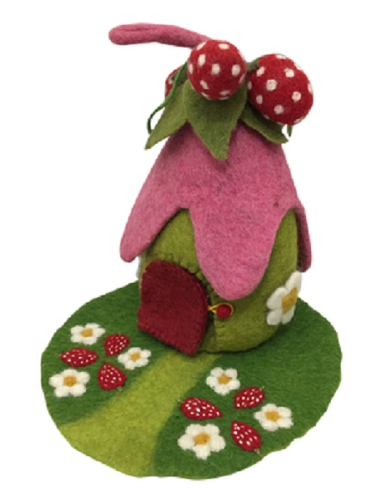 Papoose STRAWBERRY HOUSE WITH MAT