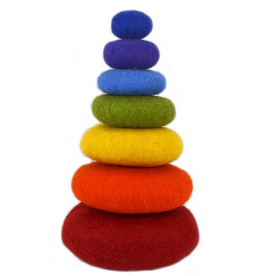 Papoose STACKING ROCK RAINBOW 7 PCS