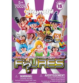 Playmobil PLAYMOBIL FEMALE FIGURES  SERIES 15