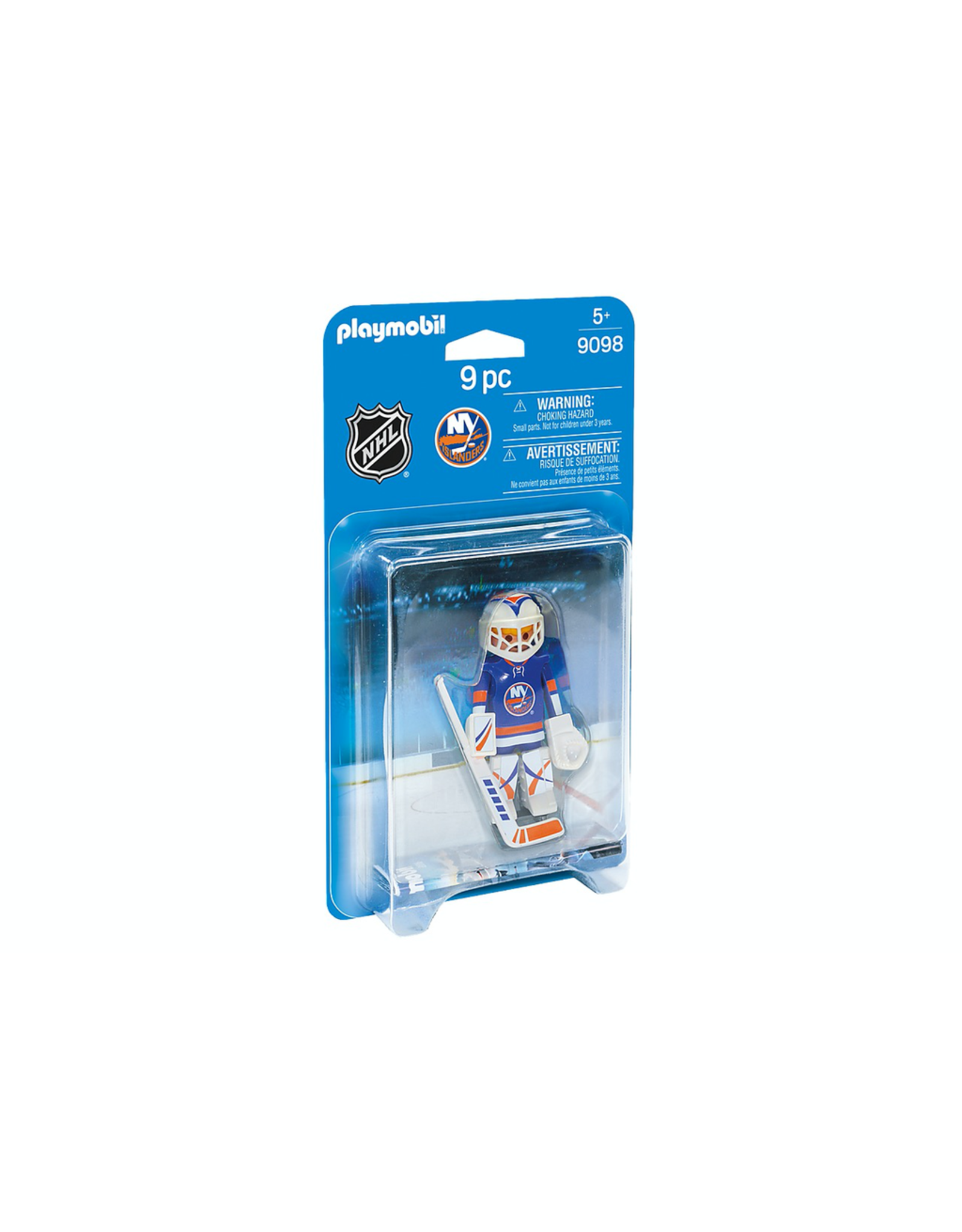Playmobil NHL® NEW YORK ISLANDERS® GOALIE  9098