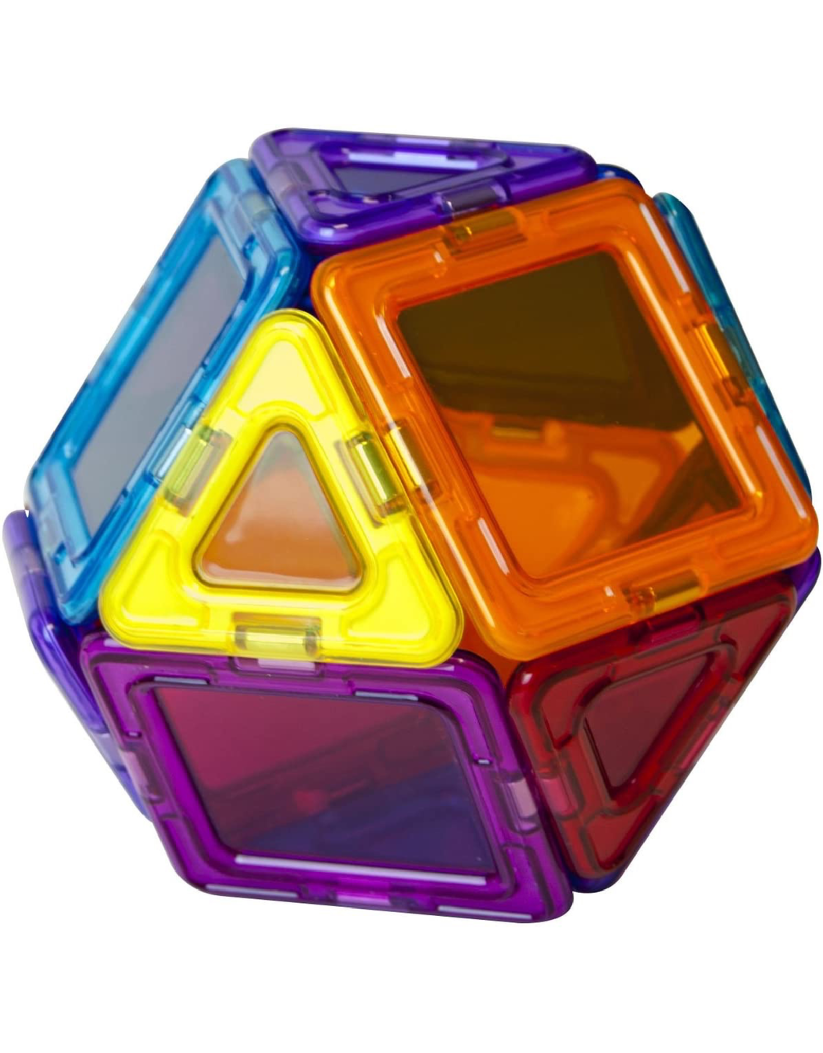 Magformers MAGFORMERS - RAINBOW CLEAR SOLIDS 14 PIECES