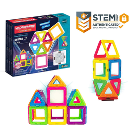 Magformers MAGFORMERS - NEON LED SET - 26 PIECES
