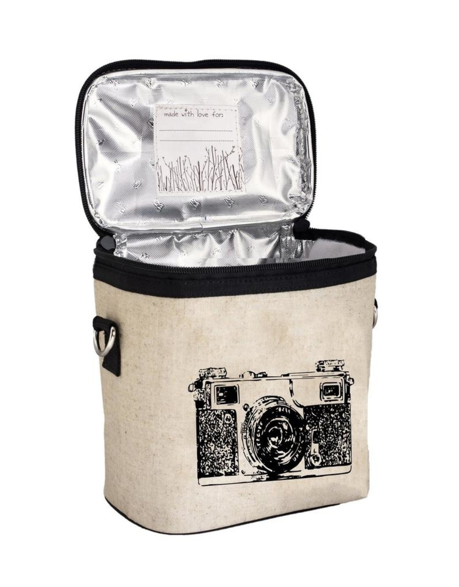 SoYoung SO YOUNG – BLACK CAMERA LARGE COOLER BAG