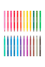 Ooly BRILLIANT BRUSH MARKERS - SET OF 24