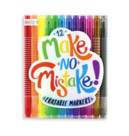 Ooly MAKE NO MISTAKE MARKERS - SET OF 12